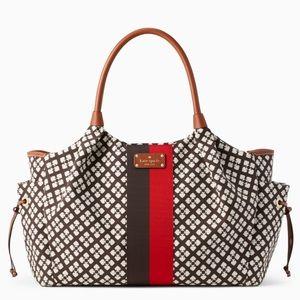 NWT Kate Spade Classic Spade Stevie baby bag